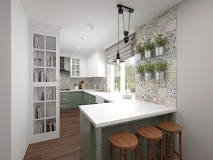 Projekt kuchni 10 m2 / Niepołomice