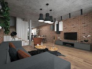 Projekt mieszkania 60 m2 / Duchnice