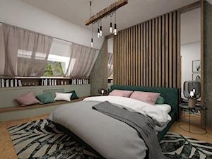 Projekt sypialni 15 m2 / Nowy Targ