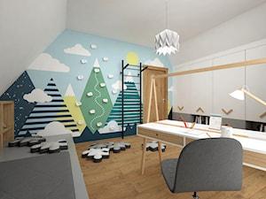 Pokoje dla dzieci 17 + 17 m2 / Nowy Targ
