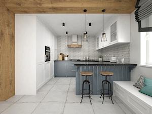 Projekt kuchni 19 m2 / Nowy Targ