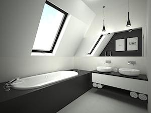 Projekt łazienki 8 m2 / Kraków