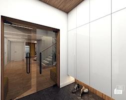 Projekt willi 300 m2 cz. III / Bochnia - Hol / przedpokój, styl nowoczesny - zdjęcie od BIG IDEA studio projektowe - Homebook