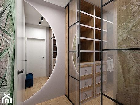 Aranżacje wnętrz - Garderoba: Projekt willi 300 m2 cz. II / Bochnia - Garderoba, styl nowoczesny - BIG IDEA studio projektowe. Przeglądaj, dodawaj i zapisuj najlepsze zdjęcia, pomysły i inspiracje designerskie. W bazie mamy już prawie milion fotografii!