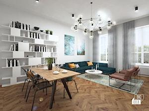 Projekt mieszkania w kamienicy 90 m2 / Kraków