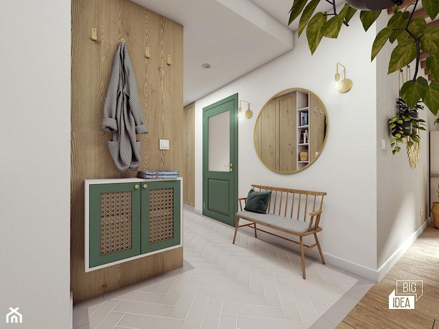 Projekt mieszkania 100m2 / Kraków / Przedpokój - zdjęcie od BIG IDEA studio projektowe