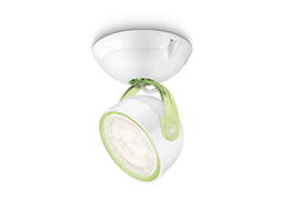 Philips myLiving Oświetlenie punktowe DYNA zielony LED