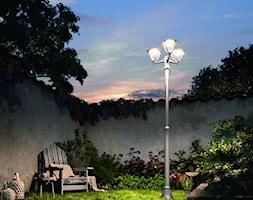 Lampy zewnętrzne - Średni ogród za domem, styl vintage - zdjęcie od Philips Lighting