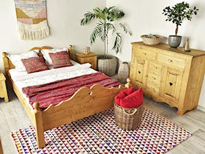 Sypialnia w stylu góralskim w nowoczesnym domu?