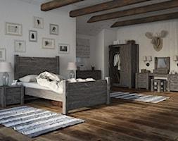Sielska sypialnia na prowincji - zdjęcie od SEART.PL - Homebook