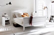 Białe meble z drewna mahoniowego Halifax - zdjęcie od Seart.pl