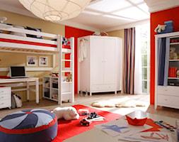 Białe, drewniane meble dziecięce z kolekcji Maja - zdjęcie od SEART.PL