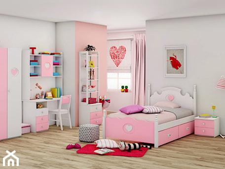 Aranżacje wnętrz - Pokój dziecka: Różowe meble dla dziewczynki - Elies - Elies.pl. Przeglądaj, dodawaj i zapisuj najlepsze zdjęcia, pomysły i inspiracje designerskie. W bazie mamy już prawie milion fotografii!