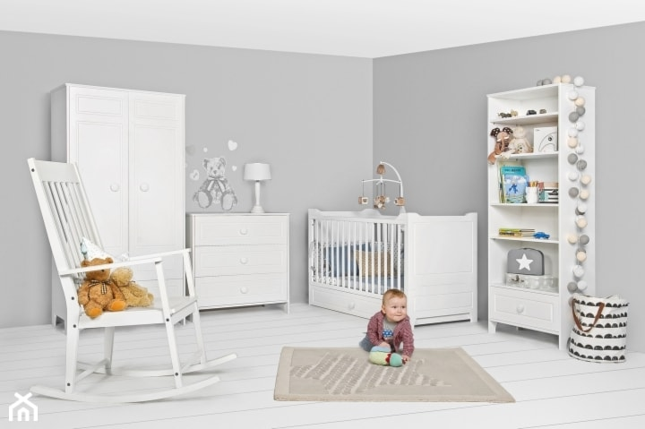drewniane meble dla dzieci w kolorze bia�ym bellamy