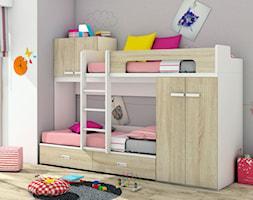 Multifunkcyjne łóżko piętrowe dla dzieci - zdjęcie od Elies.pl