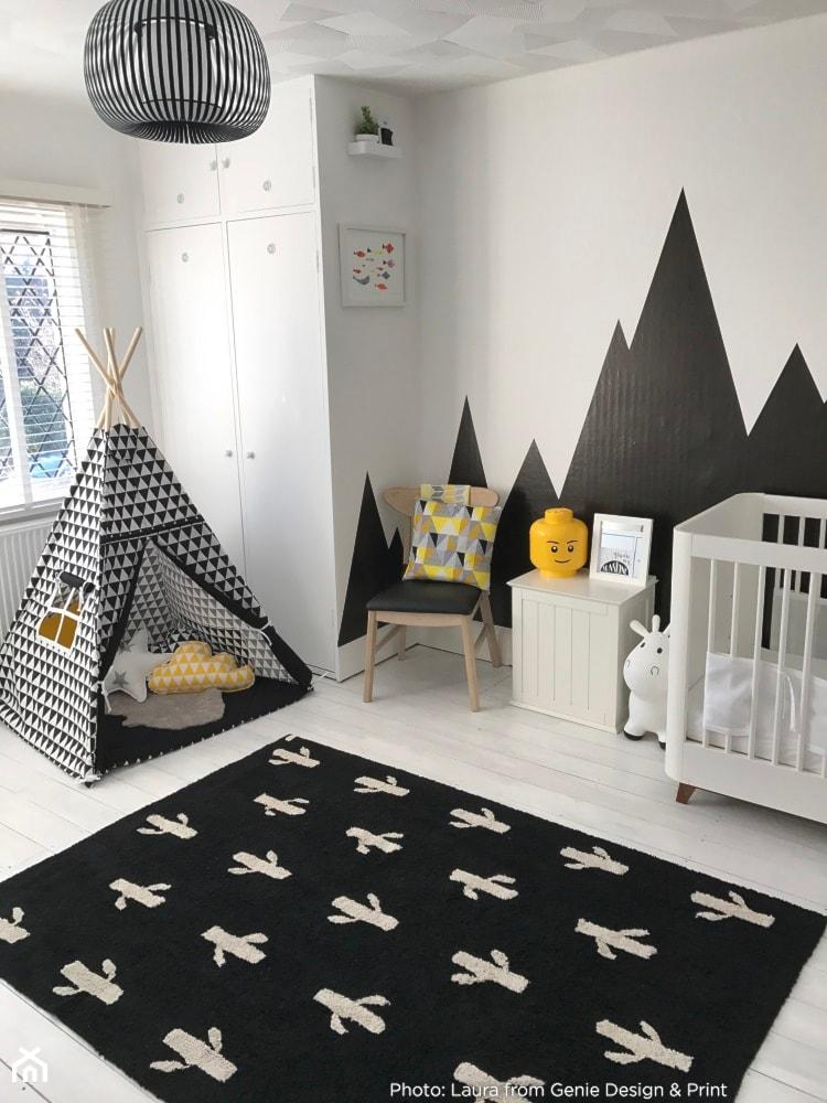 Biało Czarne Dywany Dziecięce Zdjęcie Od Eliespl Homebook