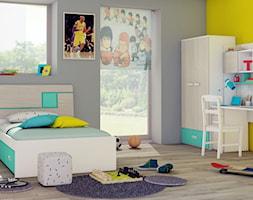 Aranżacja pokoju dla dzieci - kolor miętowy - zdjęcie od Elies.pl