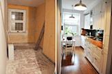 metamorfoza ścian w kuchni