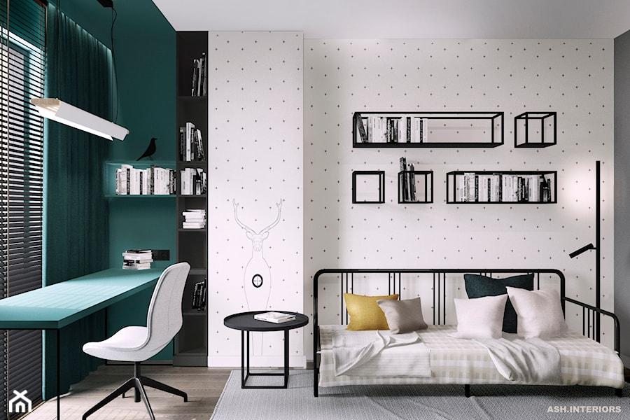 Pokój dziecka w minimalistycznym stylu - zdjęcie od Alina Shevchenko Interiors