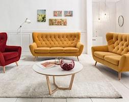 VOSS (Gala Collezione) - Duży biały salon, styl włoski - zdjęcie od Fabryka Mebli GALA COLLEZIONE - Homebook