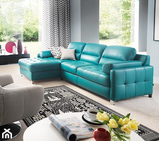 Najnowsze trendy wyposażenia salonu. Poznaj najmodniejsze kolory sofy lub fotela!