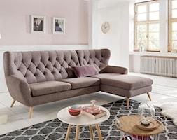 VOSS (Gala Collezione) - Średni biały różowy salon, styl vintage - zdjęcie od Fabryka Mebli GALA COLLEZIONE - Homebook