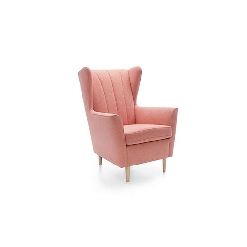 Fotel uszak Fido, na nóżkach, pokojowy, Gala Collezione