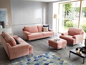 Zestawy wypoczynkowe 3+2+1, czyli sposób na komfortowy i elegancki salon