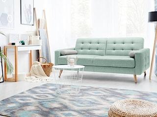 Zielone meble wypoczynkowe do salonu – zobacz trend ostatnich miesięcy