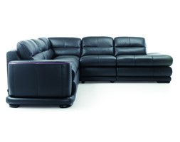 Fotel skórzany do salonu Bono  Gala Collezione