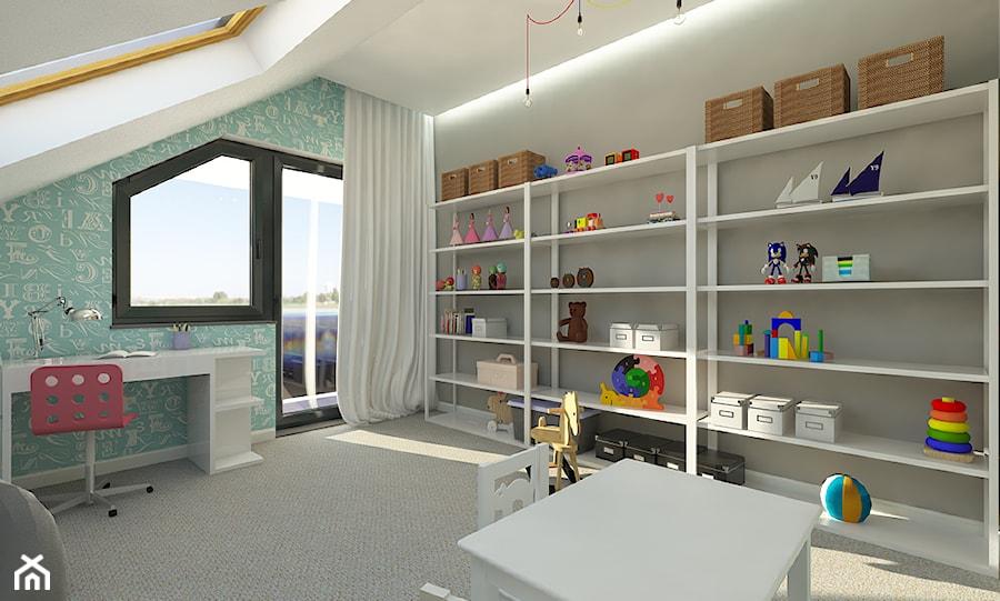 Minimalistyczny Dom w Gdyni Obłuże - zdjęcie od Malee - Projektowanie z pasją