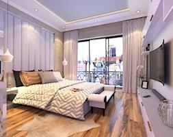 klasyczna sypialnia - zdjęcie od Malee - Projektowanie z pasją