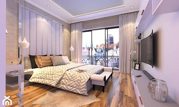 przytulna sypialnia w stylu klasycznym