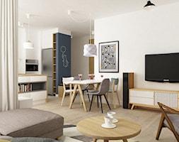 Mieszkanie 68m2 W Stylu Duńskim łazienka Styl