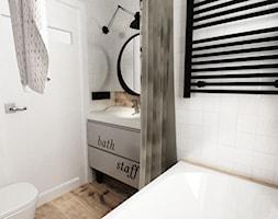 Metamorfoza Małej łazienki 35 M2 Metamorfoza Grafika I
