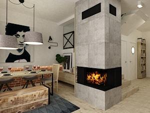 Dom Falenica 150 m2 styl nowoczesny