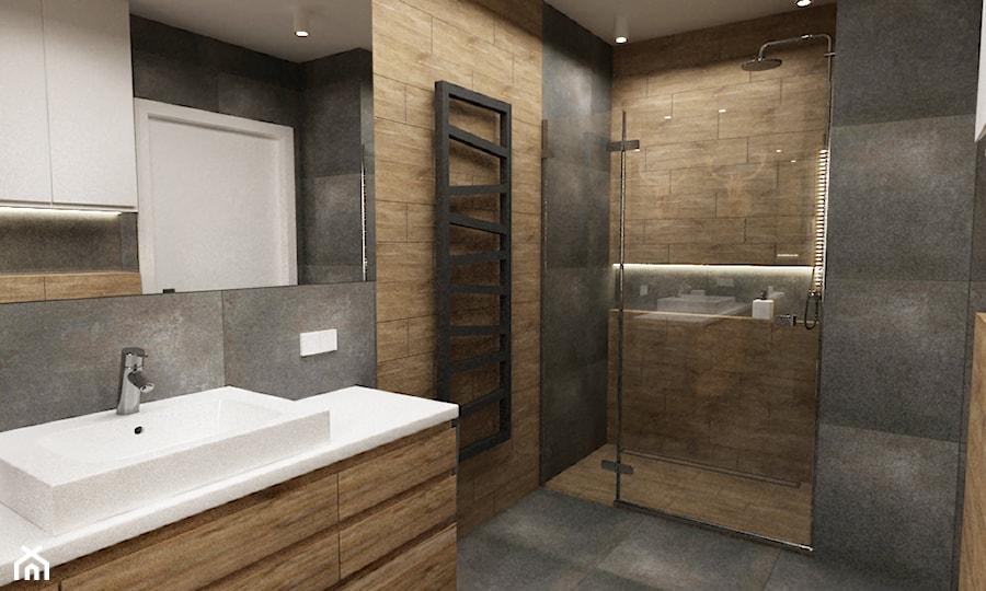 łazienki W Stylu Skandynawskim Mała łazienka Styl