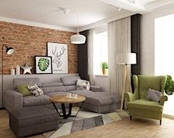 Salon styl Nowoczesny - zdjęcie od Grafika i Projekt architektura wnętrz
