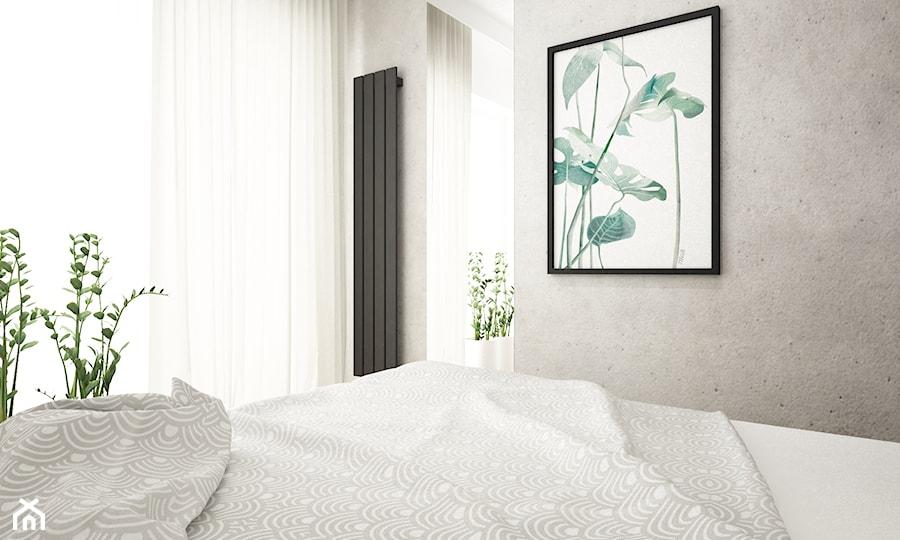 mieszkanie przerobione z 3 na 4 pokoje - Sypialnia, styl nowoczesny - zdjęcie od Grafika i Projekt architektura wnętrz