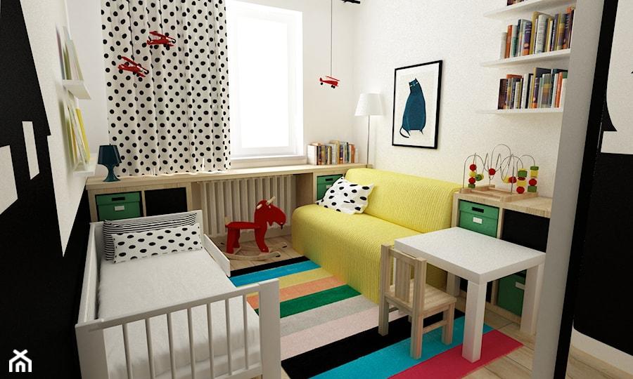 pok j dzieci cy ma y pok j dziecka dla ch opca dla dziewczynki dla malucha styl skandynawski. Black Bedroom Furniture Sets. Home Design Ideas