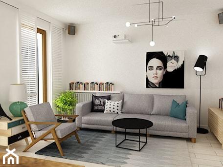 Aranżacje wnętrz - Salon: pianohouse powisle warszawa mieszkanie 73 m2 - Duży biały salon, styl nowoczesny - Grafika i Projekt architektura wnętrz. Przeglądaj, dodawaj i zapisuj najlepsze zdjęcia, pomysły i inspiracje designerskie. W bazie mamy już prawie milion fotografii!
