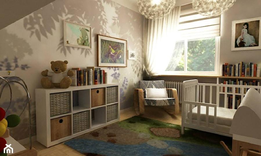 pokój dziecięcy - Pokój dziecka, styl skandynawski - zdjęcie od Grafika i Projekt architektura wnętrz