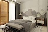 Sypialnia - zdjęcie od Grafika i Projekt architektura wnętrz - homebook