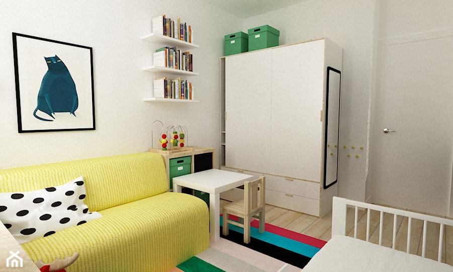 Aranżacje wnętrz - Pokój dziecka: pokój dziecięcy - Średni beżowy pokój dziecka dla chłopca dla dziewczynki dla niemowlaka, styl skandynawski - Grafika i Projekt architektura wnętrz. Przeglądaj, dodawaj i zapisuj najlepsze zdjęcia, pomysły i inspiracje designerskie. W bazie mamy już prawie milion fotografii!