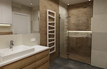 Łazienka styl Nowoczesny - zdjęcie od Grafika i Projekt architektura wnętrz