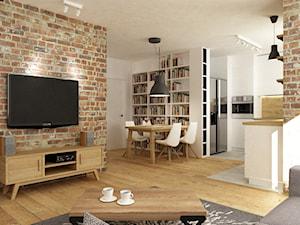 mieszkanie jasne w stylu nowoczesnym/skandynawskim 60m2