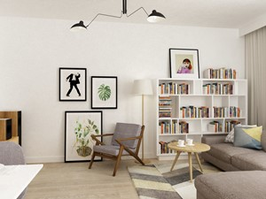 mieszkanie 68m2 w stylu duńskim