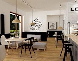 przygotowanie lokalu użytkowego pod kawiarnie na warszawskiej woli - Wnętrza publiczne, styl minimalistyczny - zdjęcie od Grafika i Projekt architektura wnętrz
