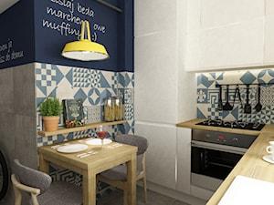 metamorfozy małej kuchni na woli