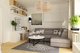 Salon - zdjęcie od Grafika i Projekt architektura wnętrz - homebook